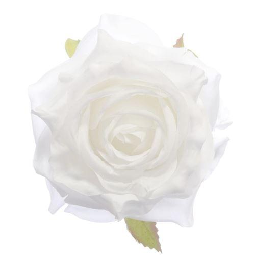 Róża głowa 10cm ly003 26l white