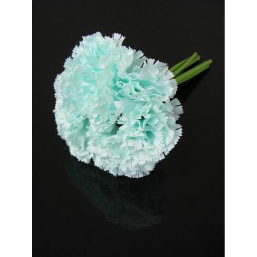 Gozdzik bukiet x 6szt Mint blue