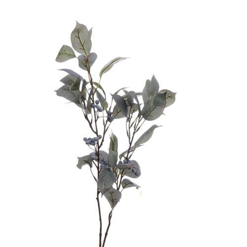Gałązka laurowa z owocami 95cm BW8977 dk.green