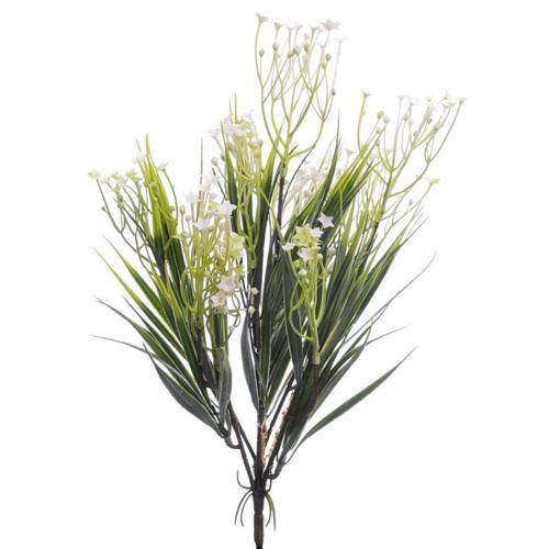 Bukiet kwitnącej trawy 39cm era1002 White