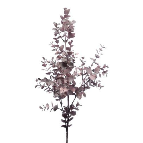 Gałązka eukalitusa 78cm dirty pink