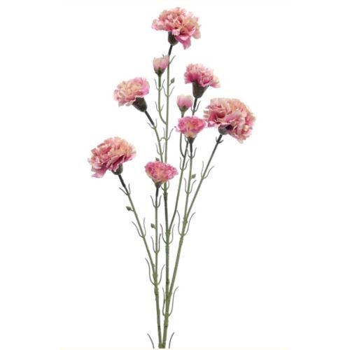GOŹDZIK X 7 / 0248 70cm Pink white