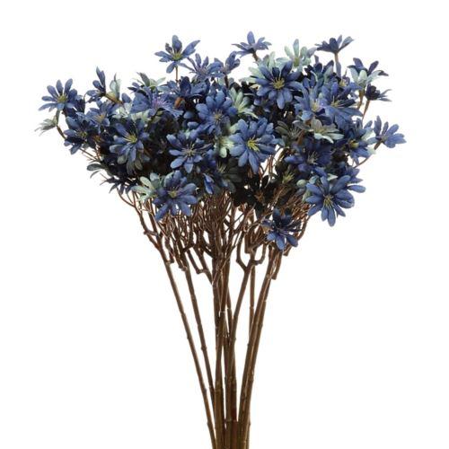 Kwitnąca gałązka cz043 56cm blue navy blue