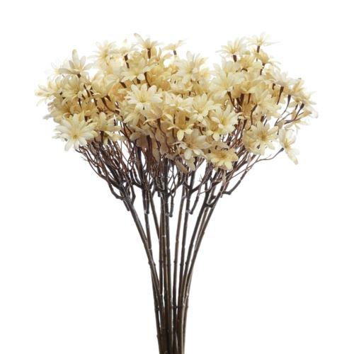 Kwitnąca gałązka cz043 56cm old cream