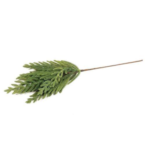 Gałązka drobno iglasta 65cm naturalna dotyku green