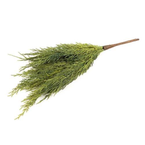 Gałązka tuja naturalna dotyku 42cm green