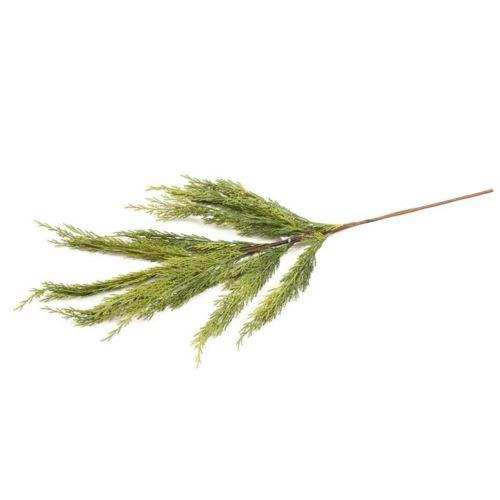 Gałązka tuja naturalna dotyku 70cm green