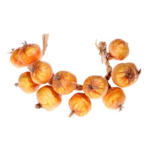 Cebula na sznurze o długości 60 cm Yellow orange