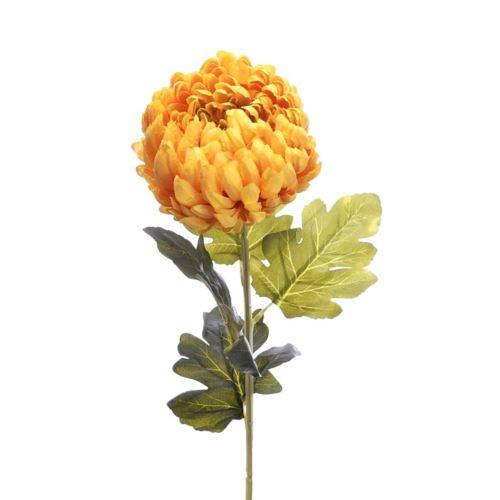 Chryzantema na łodydze75cm yellow