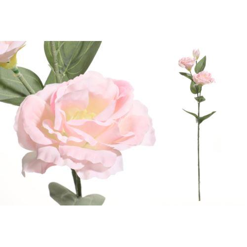 Eustoma na łodydze o długości 60 cm lt pink