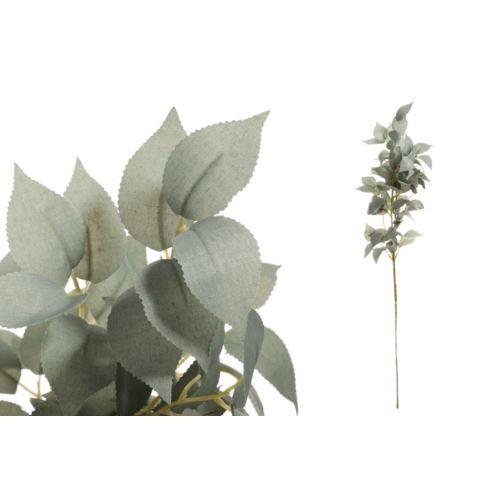Gałązka z liśćmi 75 cm gray