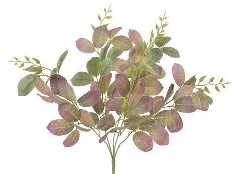 Bukiet liściasty 55cm green old pink