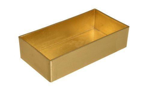 Patera 20x10cm gold