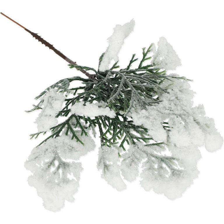 PIK CEDR ŚNIEŻNY 22CM /4006 SNOW GLITTER