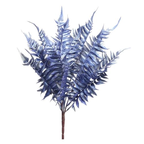 BUKIET PAPROCI METALIC X7 44CM XPUK1005 LV BLUE