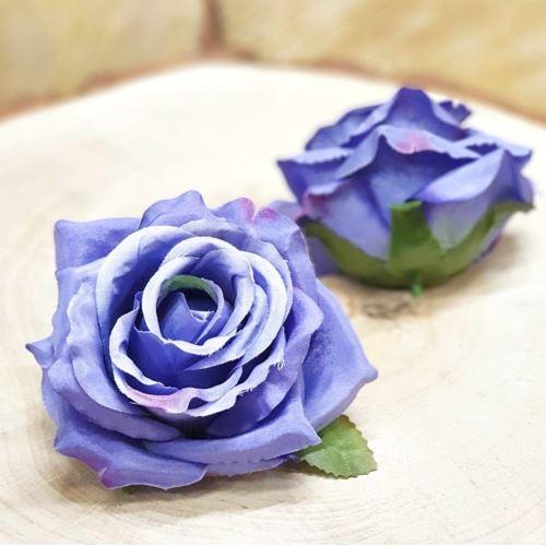 Róża głowa 10cm ly003 ULTRA VIOLET RD0092
