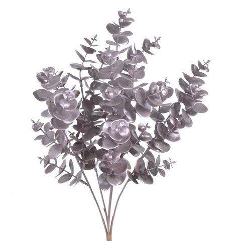Eukaliptus bukiet x5 metalic 40cm gd pink