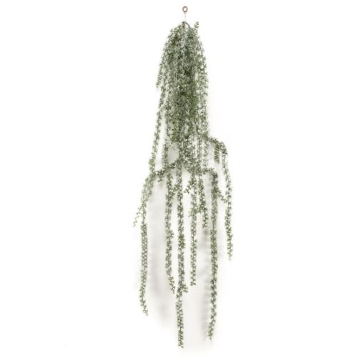 Zwis Larix hanging deco with snow 180cm green
