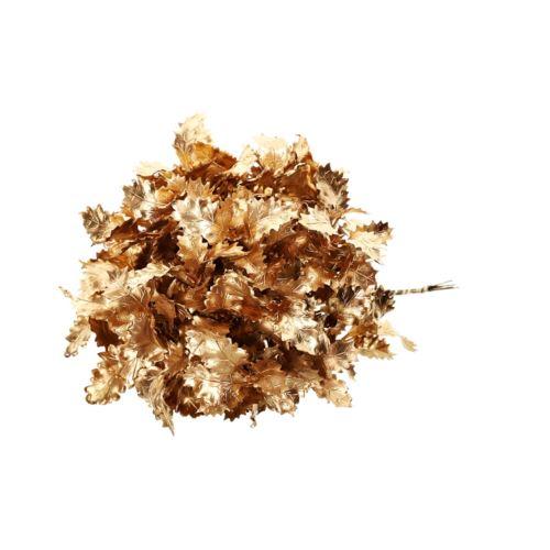Pęczek gałązek złoty ostrokrzew 6szt. 26cm gold