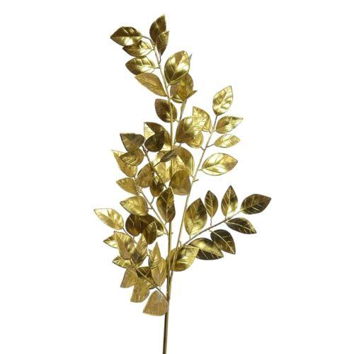 Sala leaf spray gold 73cm