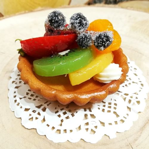 Tartaletka z owocami 8cm imitacja 65289-33 (2)