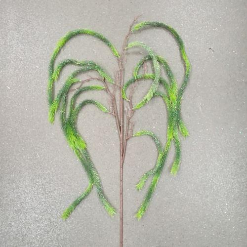 Galązka ozdobna zielony zwis 145 cm