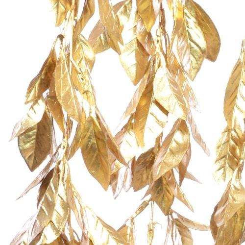 LIŚĆ LAUROWY W ZWIS 100CM GOLD