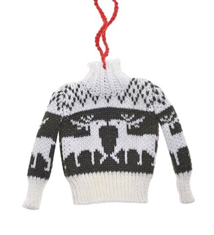 Sweter Zawieszka 104CAN217-668 szary renifer