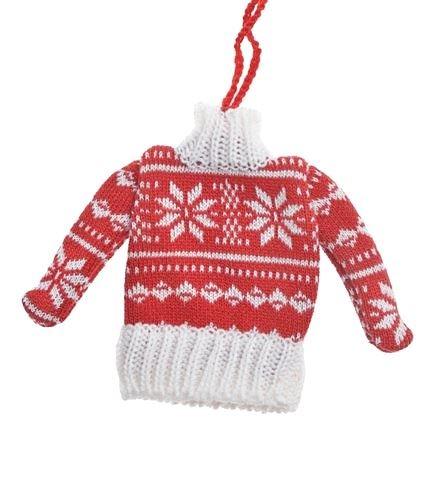 Sweter Zawieszka 104CAN217-668 czerwona gwiazdka
