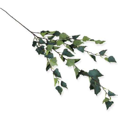 Gałązka liść brzozy 111cm / LG25 powder green