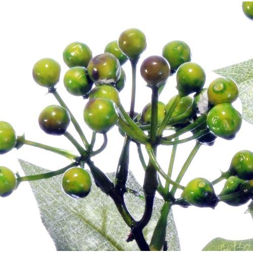 GAŁĄZKA Z OWOCAMI X3 CV11371 GREEN BROWN