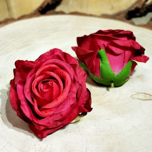 Róża głowa 10cm ly003 25L beauty red