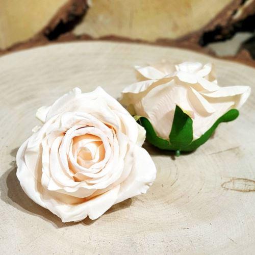Róża głowa 10cm ly003 11L powder beige pink