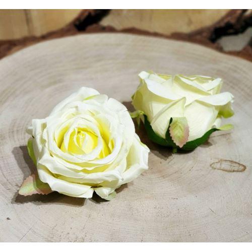 Róża głowa 10cm ly003 22L cream lt yellow