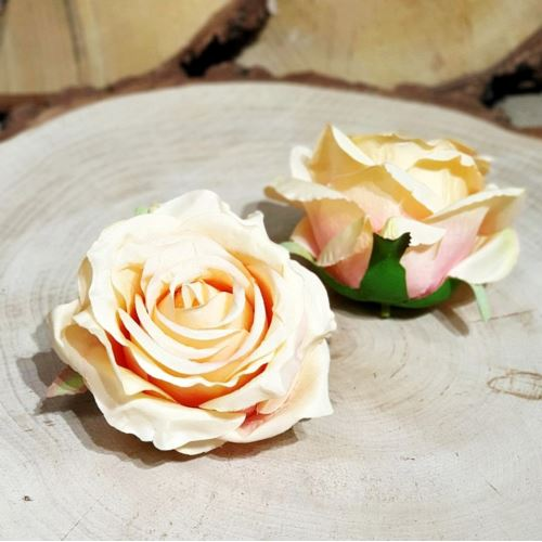 Róża głowa 10cm ly003 31L peach
