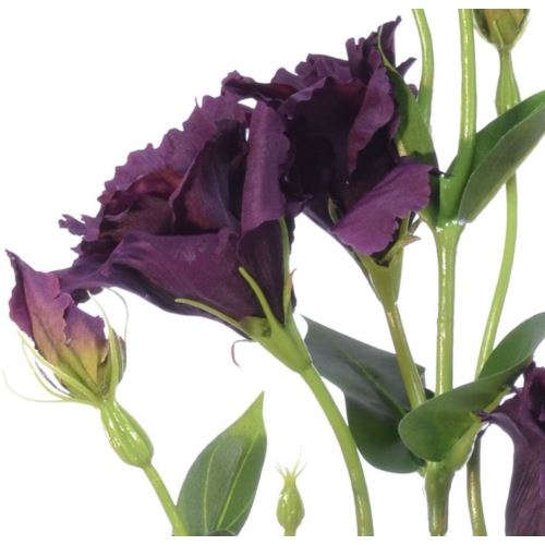 Eustoma gałązka 83cm sun345 purple green