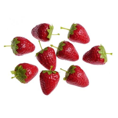 Truskawki (pacz 24 szt) -sztucz. owoc
