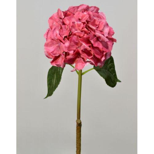 Hortensja gumowana - gałązka 60 cm beauty