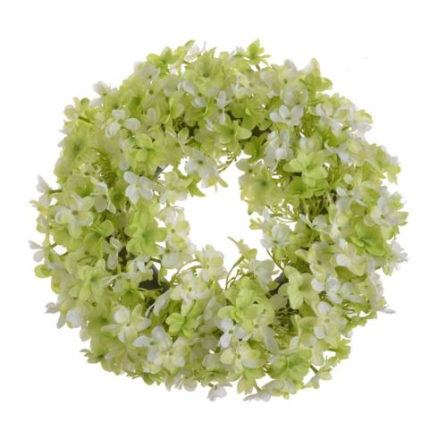 Wianek hortnesja 38cm green lt green