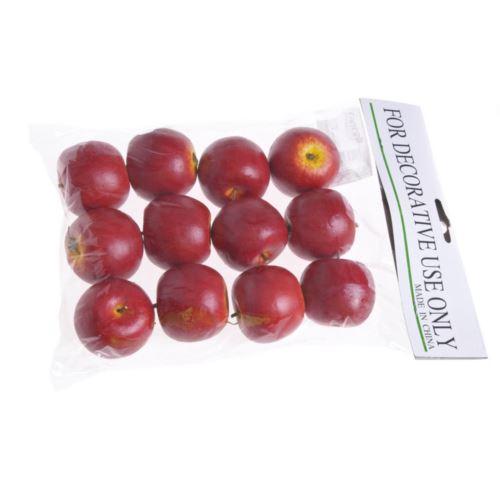 Jabłko średnie 4cm 12szt/pacz red