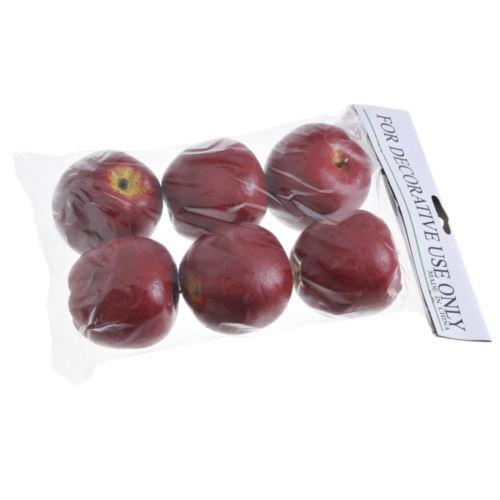 Jabłko duże 7cm 6szt/pacz. red