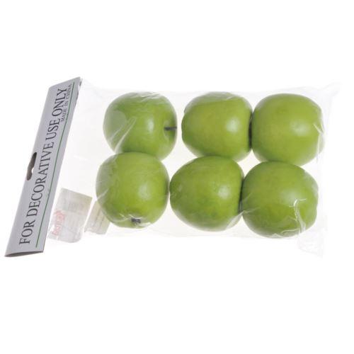 Jabłko duże 7cm 6szt/pacz. green