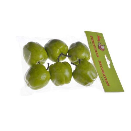 Jabłka 5cm 6szt/paczka green