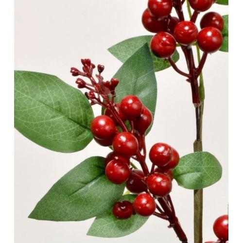 Gałązka z owocami 53cm CV06229 red