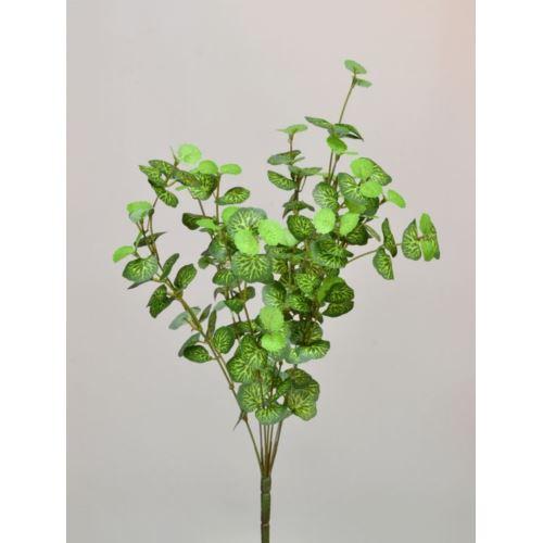 BUKIET DROBNYCH LISTKÓW 36CM SY048 GREEN LT GREEN