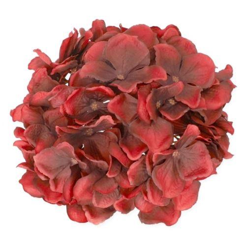 HORTENSJA GŁOWA 22CM /1814 (MIX7) BLACK RED