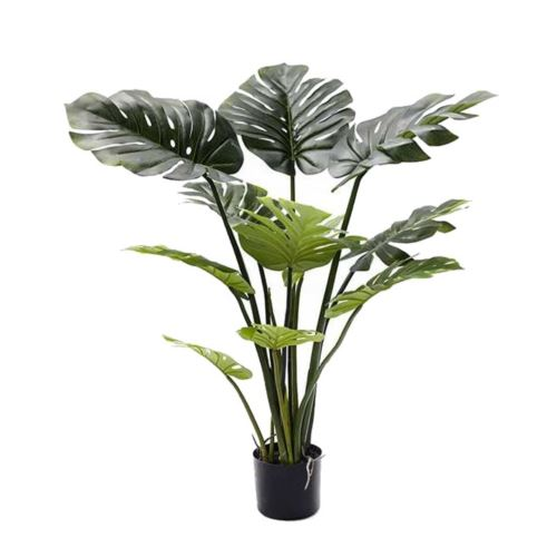 MONSTERA W DONICZCE 110CM SOFT TOUCH GREEN