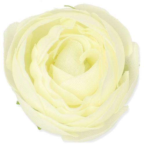 MINI CAMELKA – RANUNCULUS 4CM /4304 CREAM WHITE
