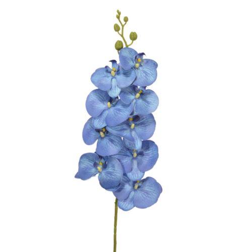STORCZYK 9 KWIATÓW 98CM SOFT TOUCH BLUE