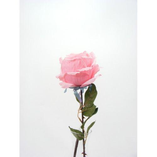 Róża 80cm -sztucz.kwiat pink